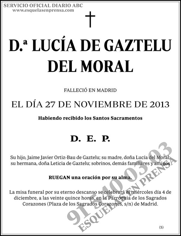 Lucía de Gaztelu del Moral
